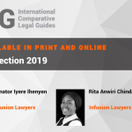 Infusion Lawyers is Nigeria's exclusive contributor to ICLG Data Protection 2019