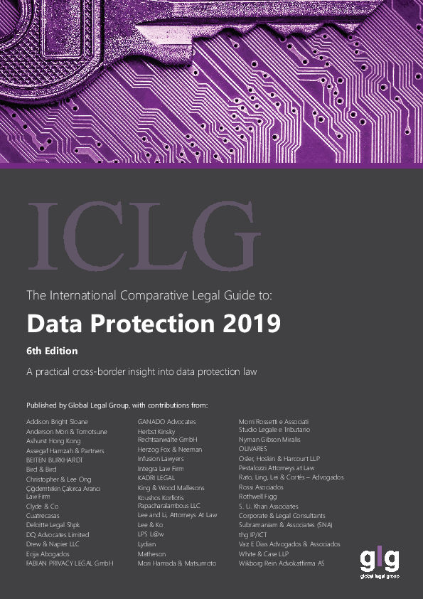 ICLG Data Protection 2019 Nigeria by Infusion Lawyers