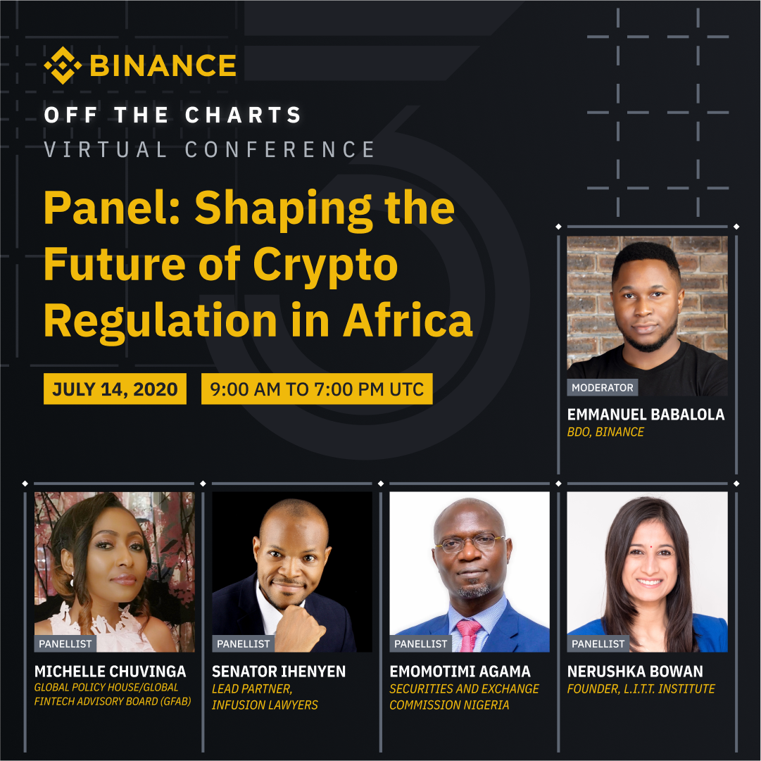 "Senator Ihenyen to speak at Binance ""Off the Charts"" Virtual Conference, Shaping the Future of Crypto Regulation in Africa Infusion Lawyers"